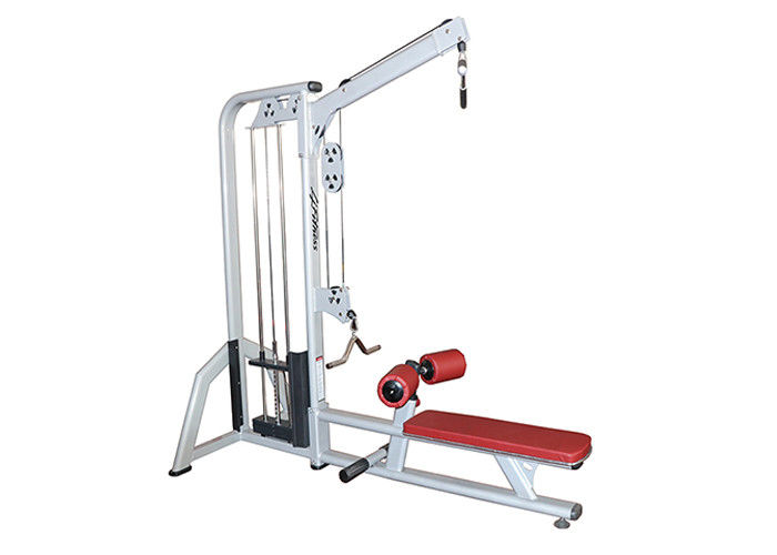 Indoor Life Fitness Workout Machines / Lat Pulldown Machine Combined With Seated Row