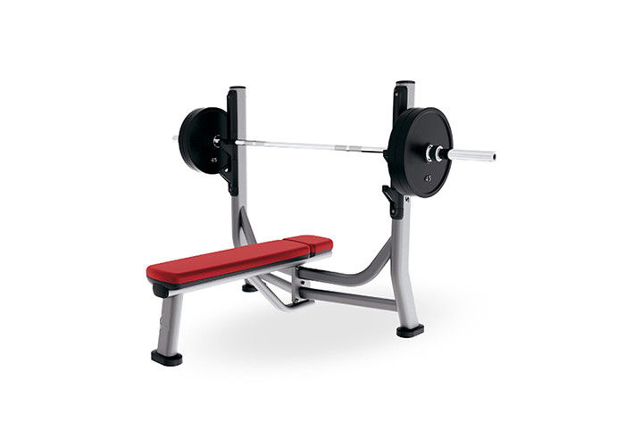 Gym Use Life Fitness Strength Equipment , Flat Weight Lifting Bench Press Machine