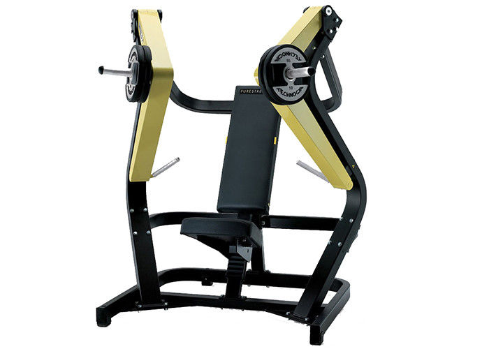 Indoor Hammer Strength Commercial Gym Equipment / Wide Chest Press Machine